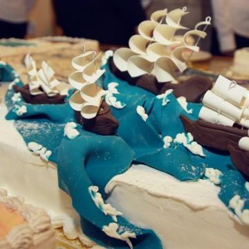 Торт - шедевр на 15 килограмм ко Дню рождения