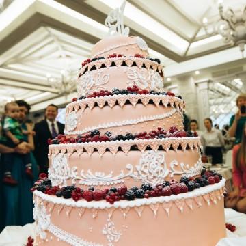 Свадебный торт от шеф-кондитера ресторана БульВар